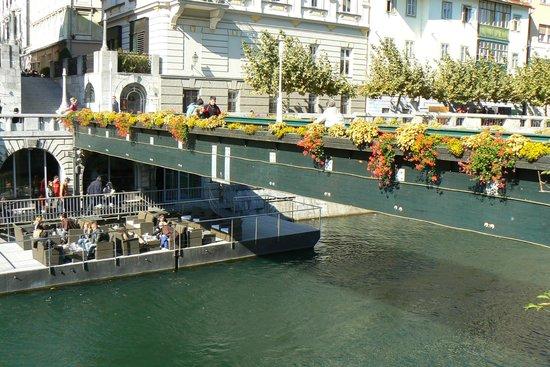 River Ljubljanica Kanal: canal do rio ljubjanica