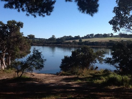 Kalgan River Caravan Park: Oh so relaxing!