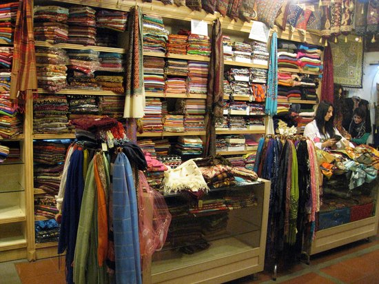Koza Hani: Ipek Silk shop in the Silk Bazar