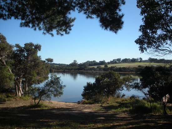 Kalgan River Caravan Park: Relaxation by the river