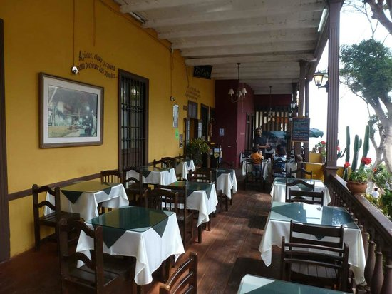 Barranco: Bajada: Restaurant Toto´s leer
