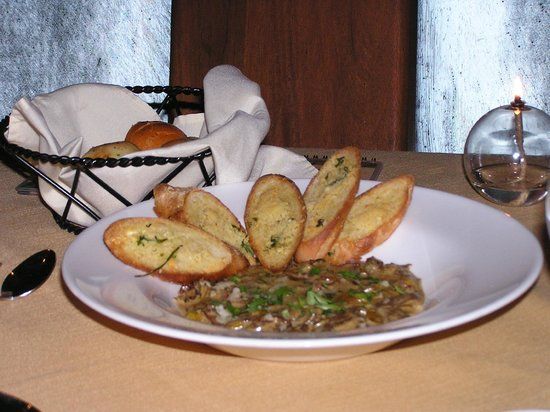 The Springs Resort and Spa: Wild Mushroom Bruschetta Appetizer