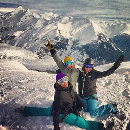 Alaska Powder Descents: Happy customers enjoying the goods