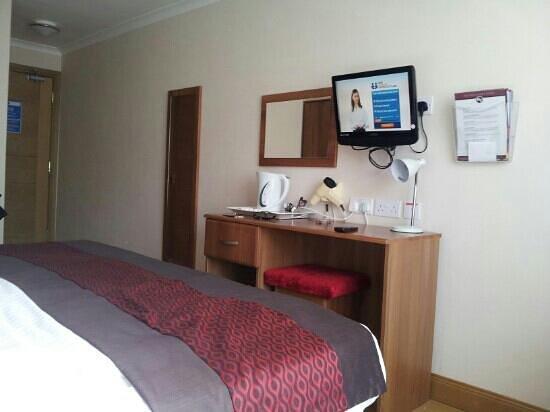 Rowantree Hotel: double bedroom