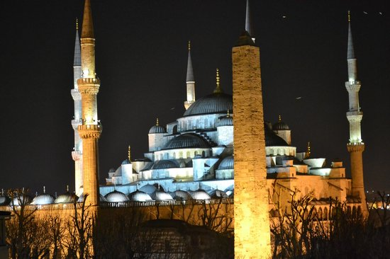 Hotel Sultan House: blue mosque