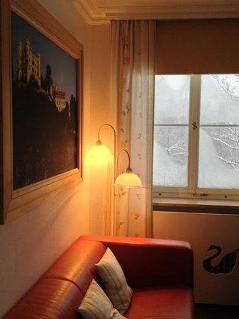 Schlossrestaurant Neuschwanstein: 飯店房間