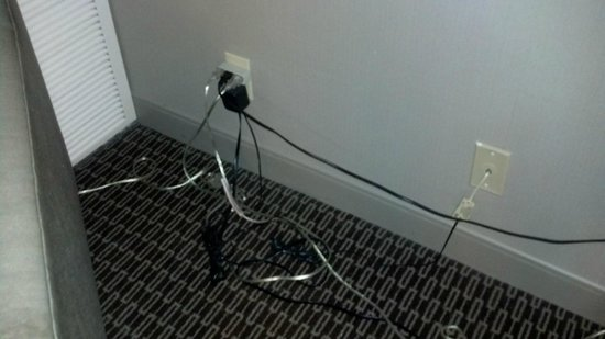 The Westin Southfield Detroit: Okay, so 4-5 plugs, but still