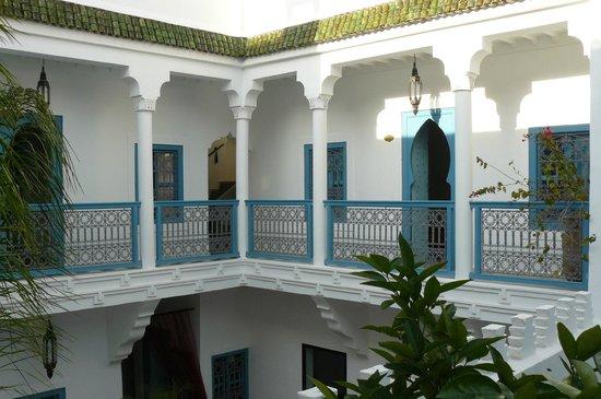 Riad Chamali: étage sud