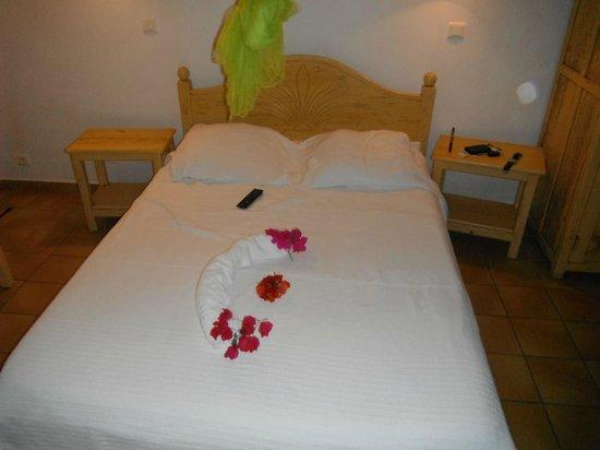 Village Ti Figues: lit pour deux personnes