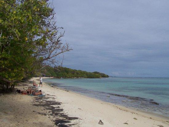 Village Ti Figues: plage a 100 m du gites