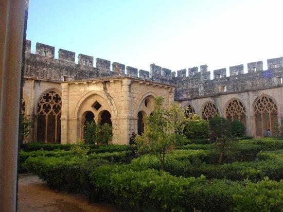 Reial Monestir de Santes Creus: claustro posterior