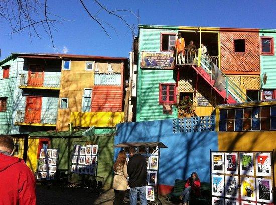 Colored Houses in La Boca - Picture of La Boca, Buenos Aires ...