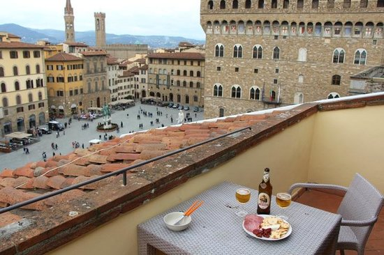 Relais Piazza Signoria: View from the balcony