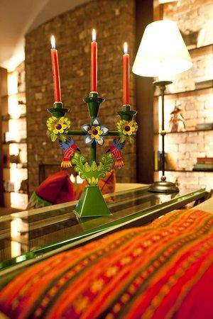 LP Los Portales Hotel Cusco: Sala de estar - adorno
