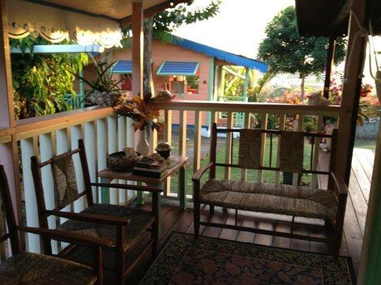 Italian Guesthouse: veranda