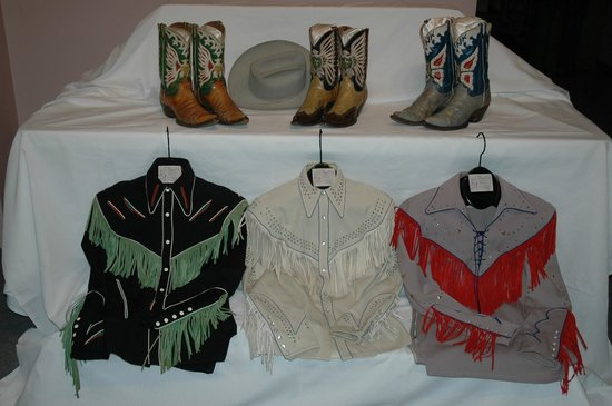 Hank Williams Museum: Items on display at the Museum