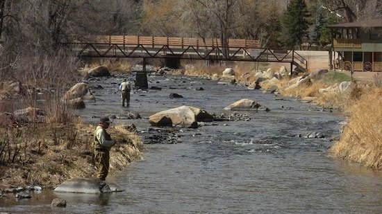 Sylvan Dale Guest Ranch: Fly Fishing on Big Thompson