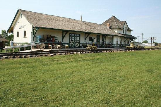 Camrose Heritage Railway Station Museum