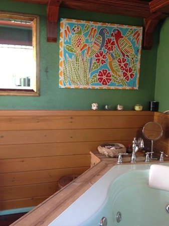 Italian Guesthouse : jacuzzi