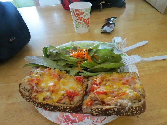 Simply Natural: Spicy Tuna Melt