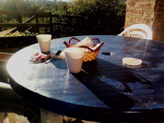 Tilcara Sierras: el desayuno