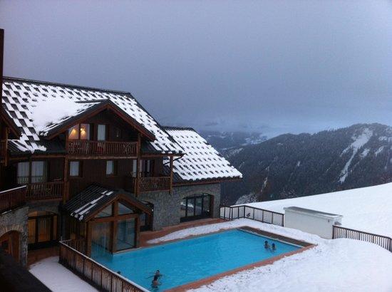 Résidence Odalys Les Alpages du Corbier: La piscine