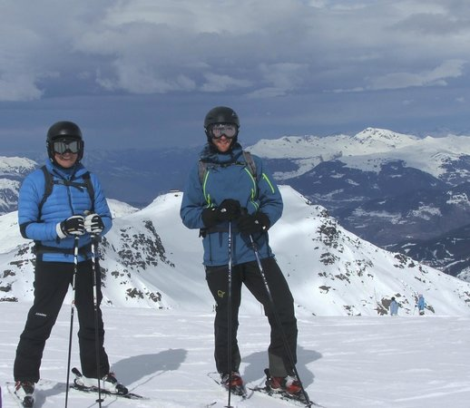 Green Mountain Chalets: On top of the world!