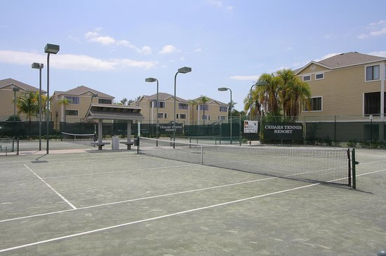 Cedars Tennis Resort: Tennis Courts