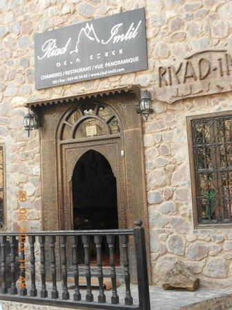 Riad Imlil : l'entrée
