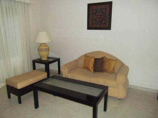 El Dorado Sensimar Riviera Maya: Sitting area