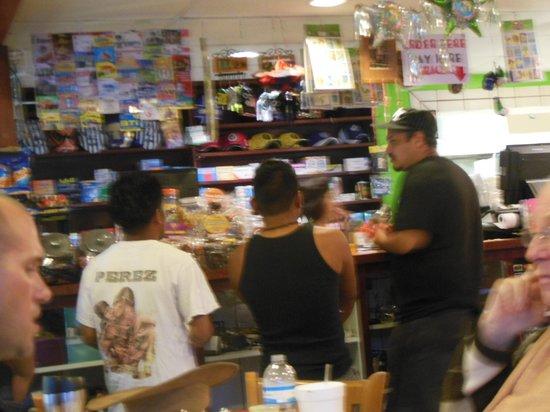 La Tienda Latina: ENTHUSIASTIC PATRONS