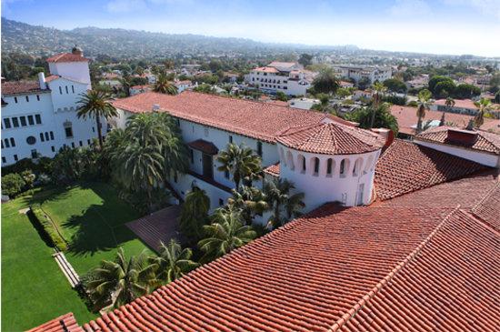 Summerland, CA: Historic Santa Barbara County Courthouse