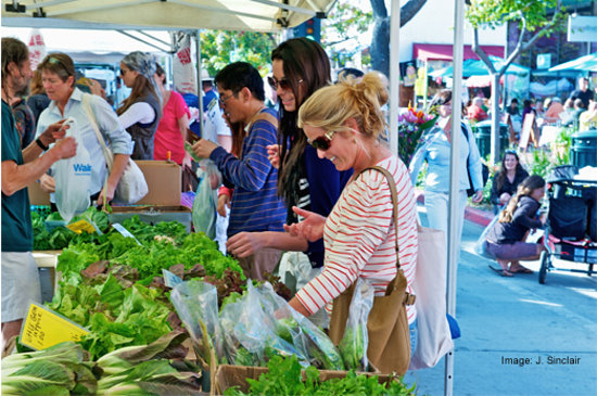 Summerland, CA: Fresh produce at the weekly Farmers' Market