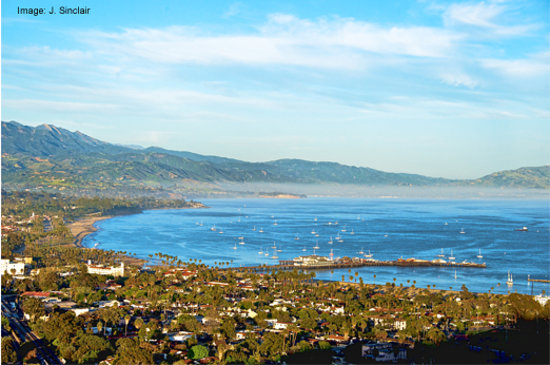 Montecito, CA: Santa Barbara Bay View