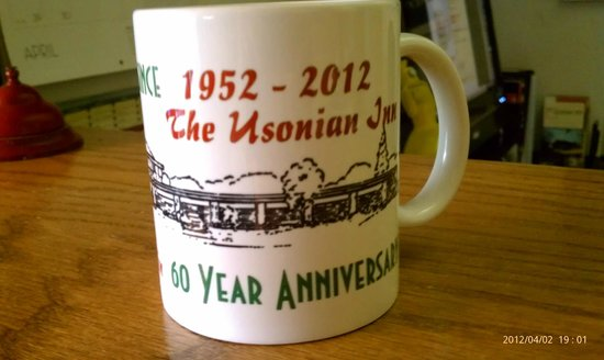 The Usonian Inn LLC: anniversary mug - design by CCDursina