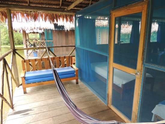 Muyuna Amazon Lodge: Our balcony