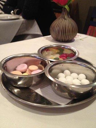 Jilabi: complimentary sweets