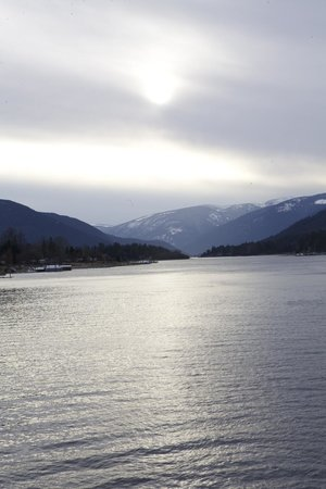 Kootenay Lake Ferry照片