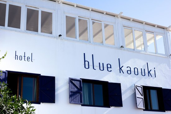 Hotel Blue Kaouki : The hotel front side