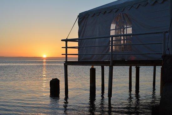 La Concha Beach Resort: sunset