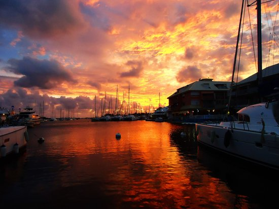 Nice in the evening traveller reviews marina port la - Marina port la royale marigot st martin ...