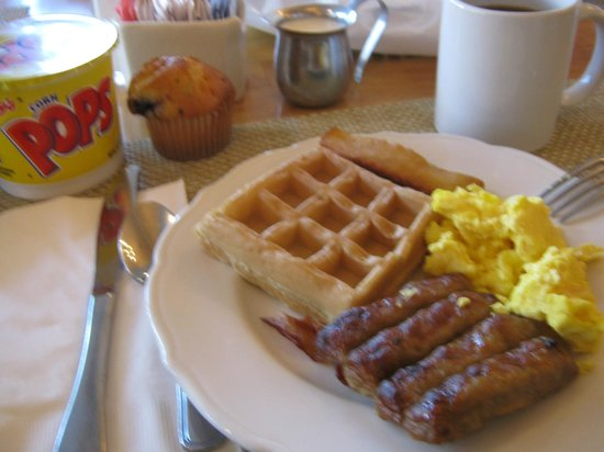 Town and Country San Diego: Desayuno