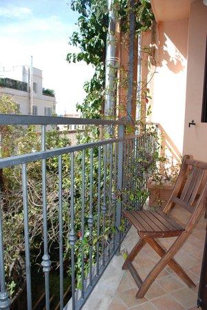 Hotel Gregoriana: Room M Balcony