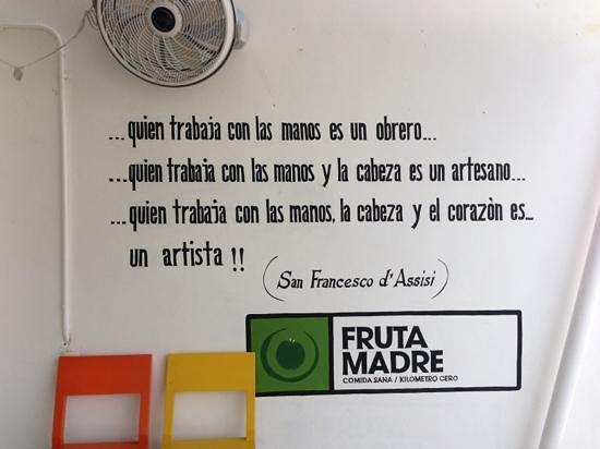 Fruta Madre: poem