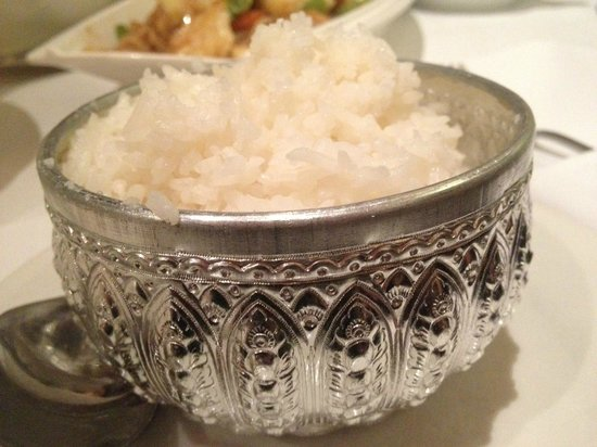 Mengrai Thai: Rice.