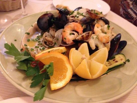 La Scala : mixed fisk ock skaldjur
