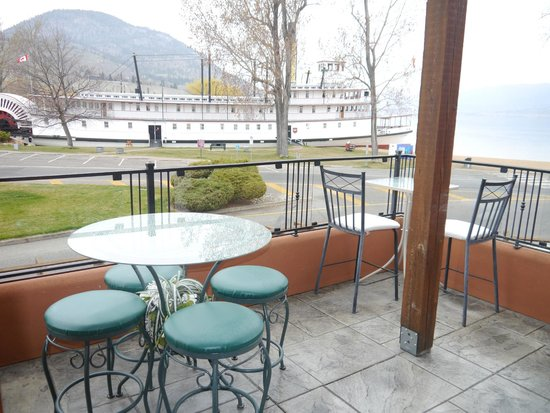 Casa Grande Inn: Livingroom balcony