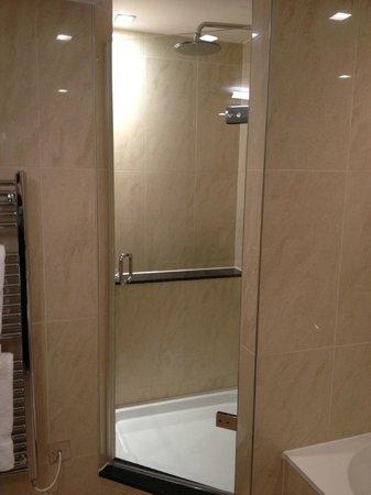 Royal Garden Hotel: Great shower.