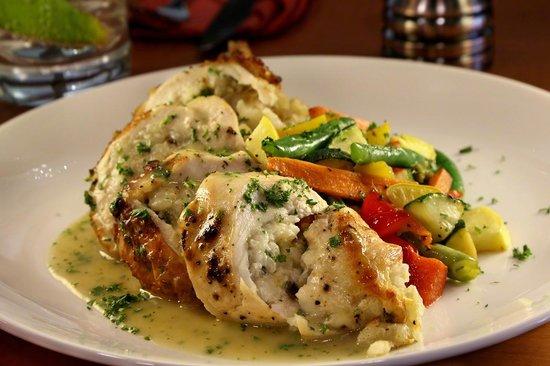 One Lincoln: Risotto Stuffed Chicken