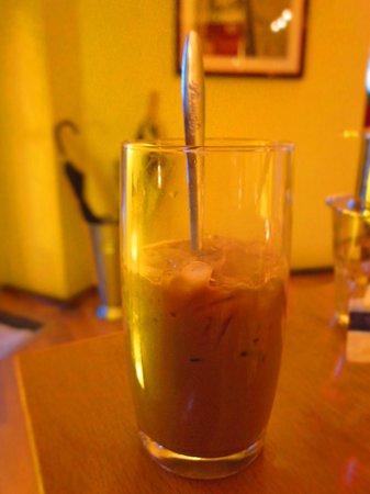 Quan Van: Vietnamese Iced Coffee. Amazing.